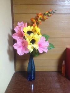 Flowers last year